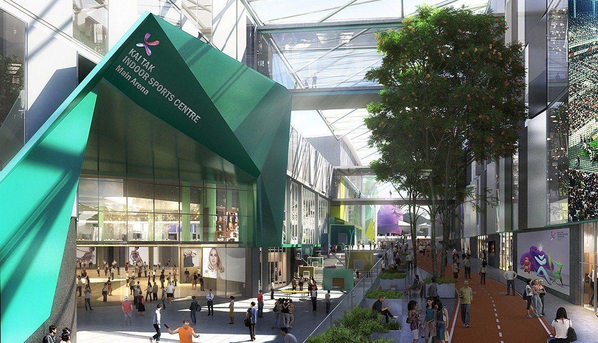 新世界奪啟德體育園營運權,300億建築費政府支付。 香港中國通訊社