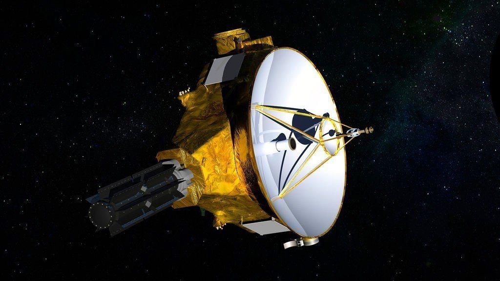美國國家航空暨太空總署的無人太空船「新視野號」。 美聯社