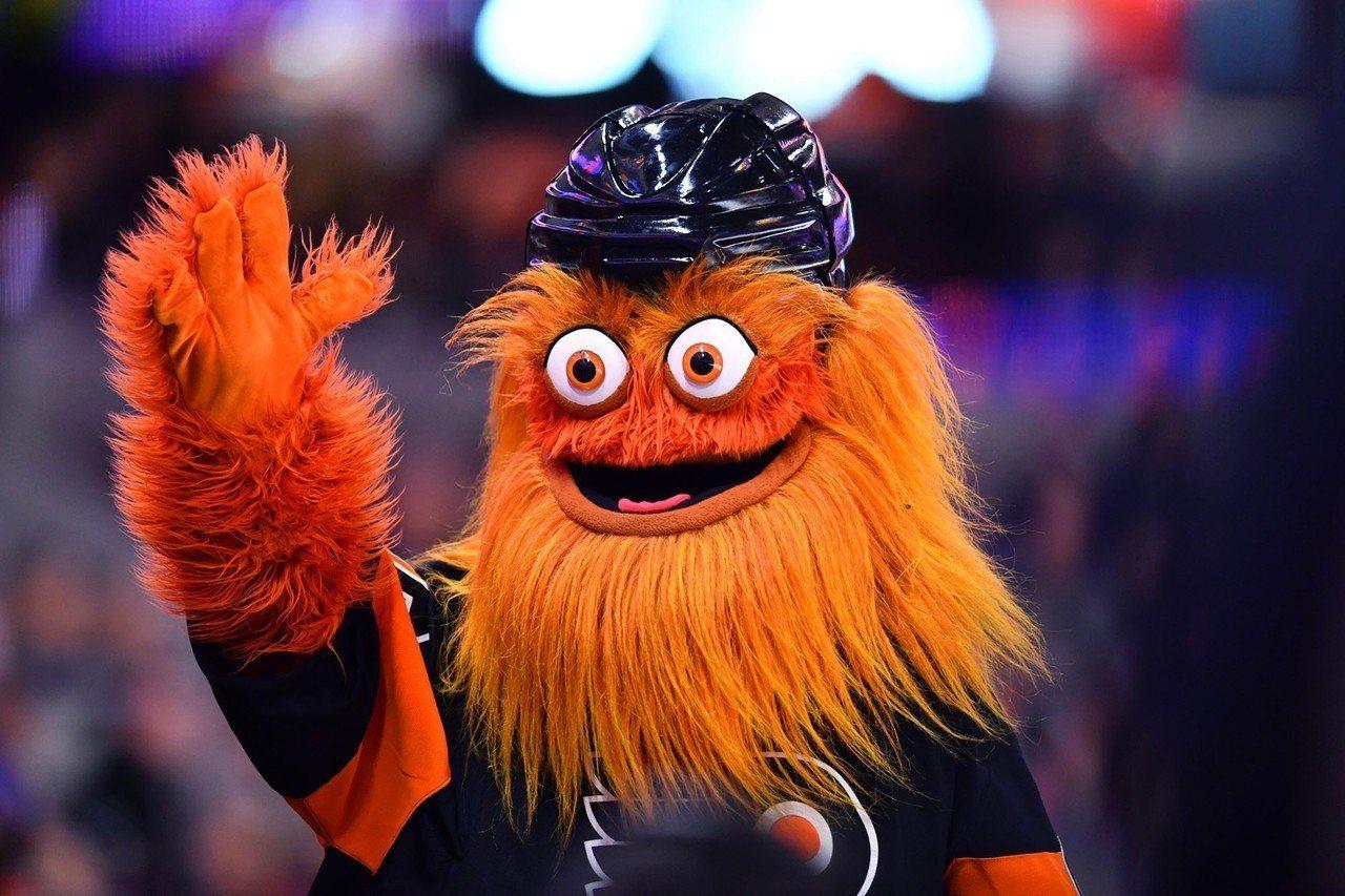 美國國家冰球聯盟費城飛人(Philadelphia Flyers)吉祥物Grit...