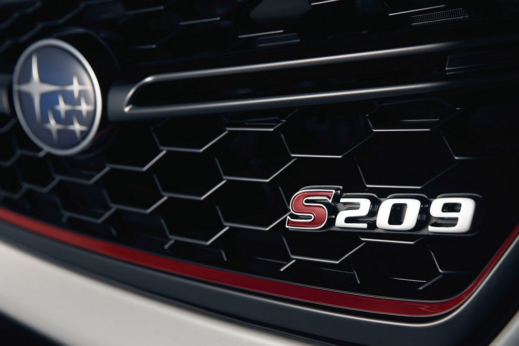 Subaru汽車宣布2019年1月中登場的美國底特律車展(或稱北美國際車展)將推出S209新車,並釋出一張細節廠圖。 圖/Subaru提供