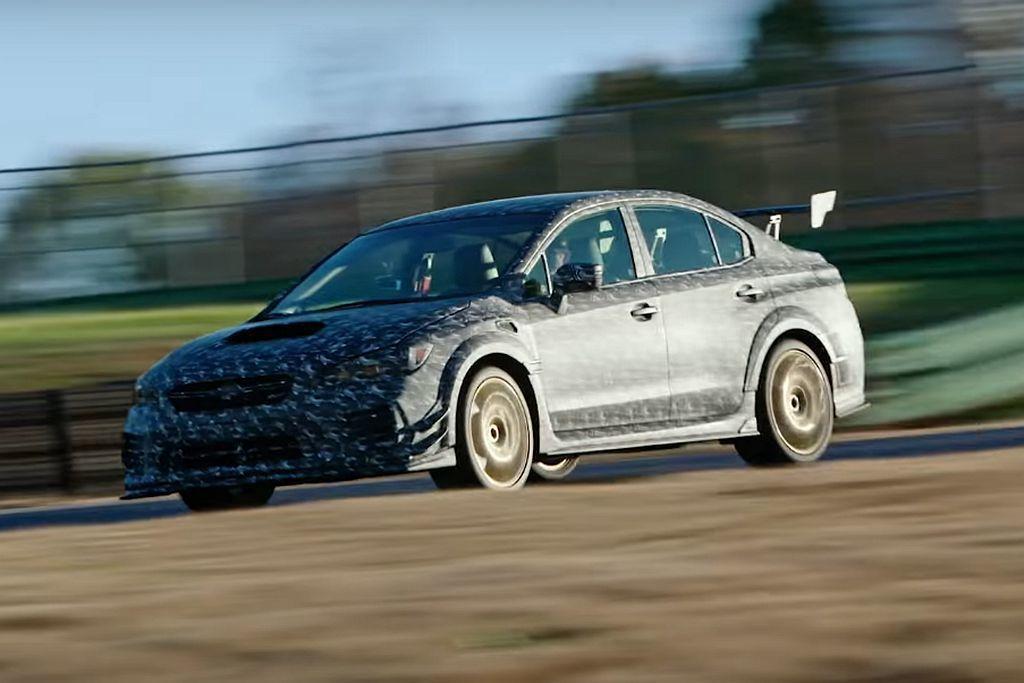在消息曝光之前,Subaru汽車就已經在網路上公布S209的測試影片,清楚看到採...
