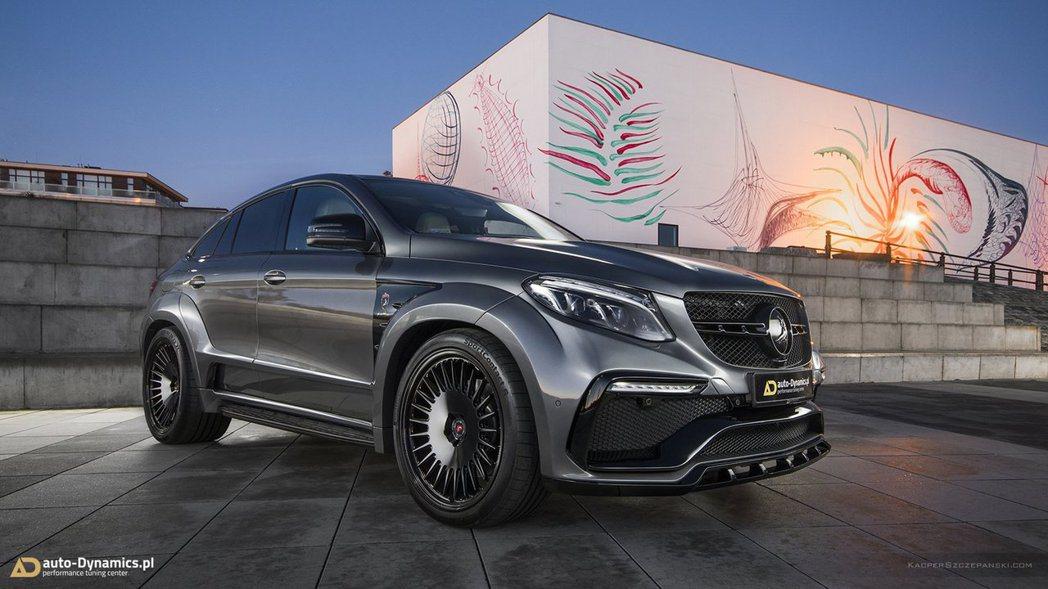 由波蘭華沙的「auto-Dynamics.pl」改裝廠所改裝的Mercedes-AMG GLE 63 S Coupe,可爆發出806hp的最大馬力! 摘自auto-Dynamics.pl