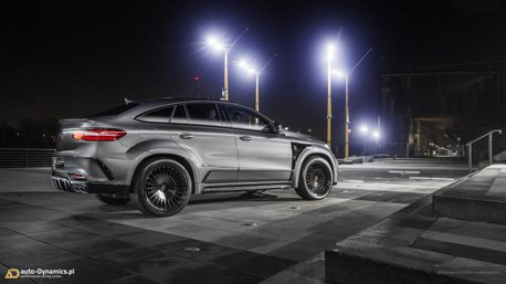 影/爆改Mercedes-AMG GLE 63 S Coupe 來自東歐的806hp猛獸!