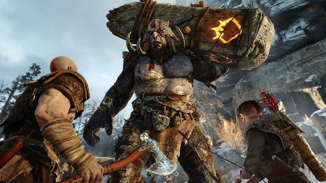 集殲滅、探索、解謎、親情對話於一身的《戰神》。為2018年TGA年度最佳遊戲。