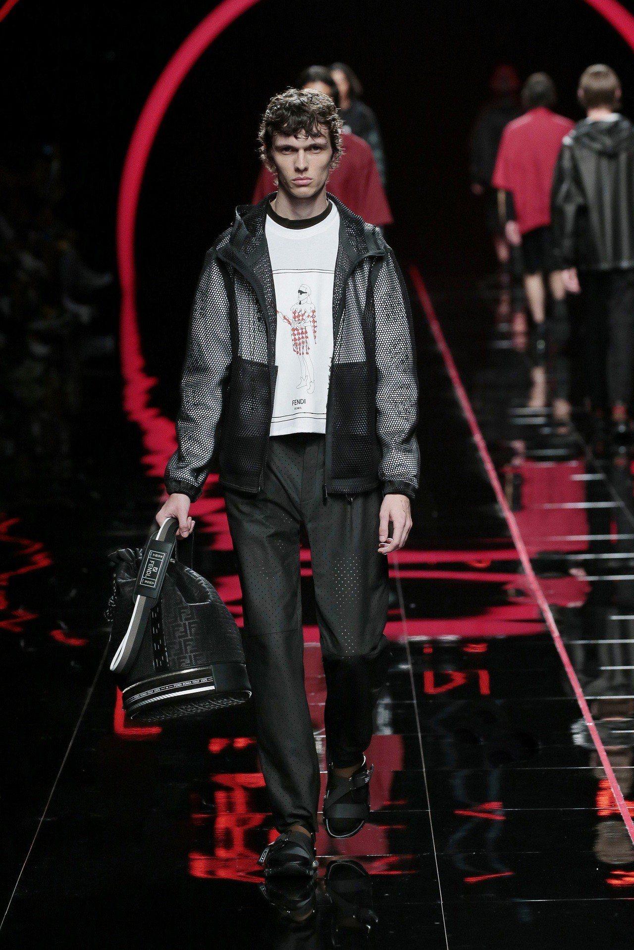 Karl Lagerfeld以撲克牌小丑(Joker)延伸出的JoKarl系列T...