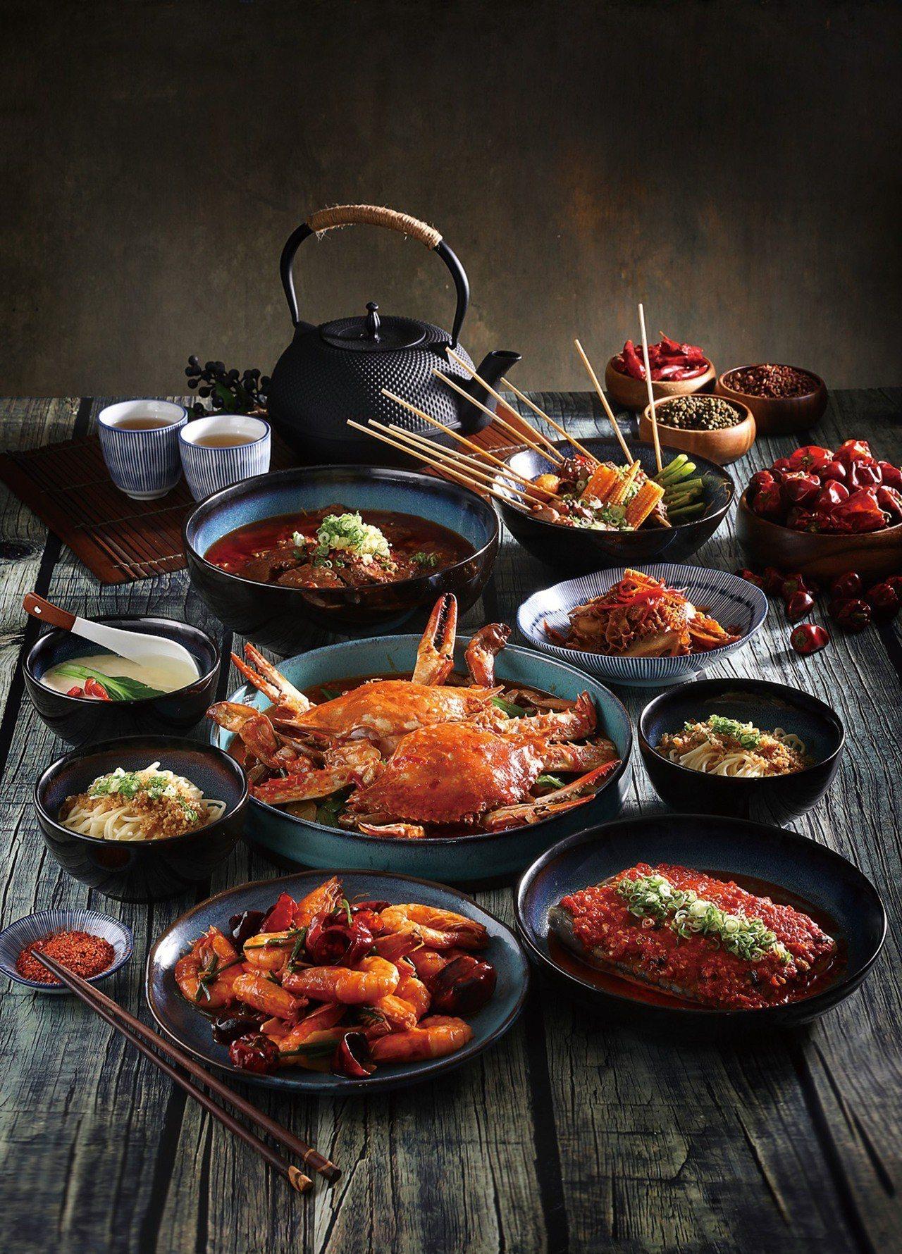 新光三越A9 Packie銀杏川酒菜館跨年推薦餐,5,280元。圖/新光三越提供