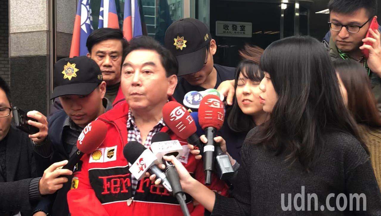 補教名師高國華酒駕被警方逮捕。記者李承穎/攝影