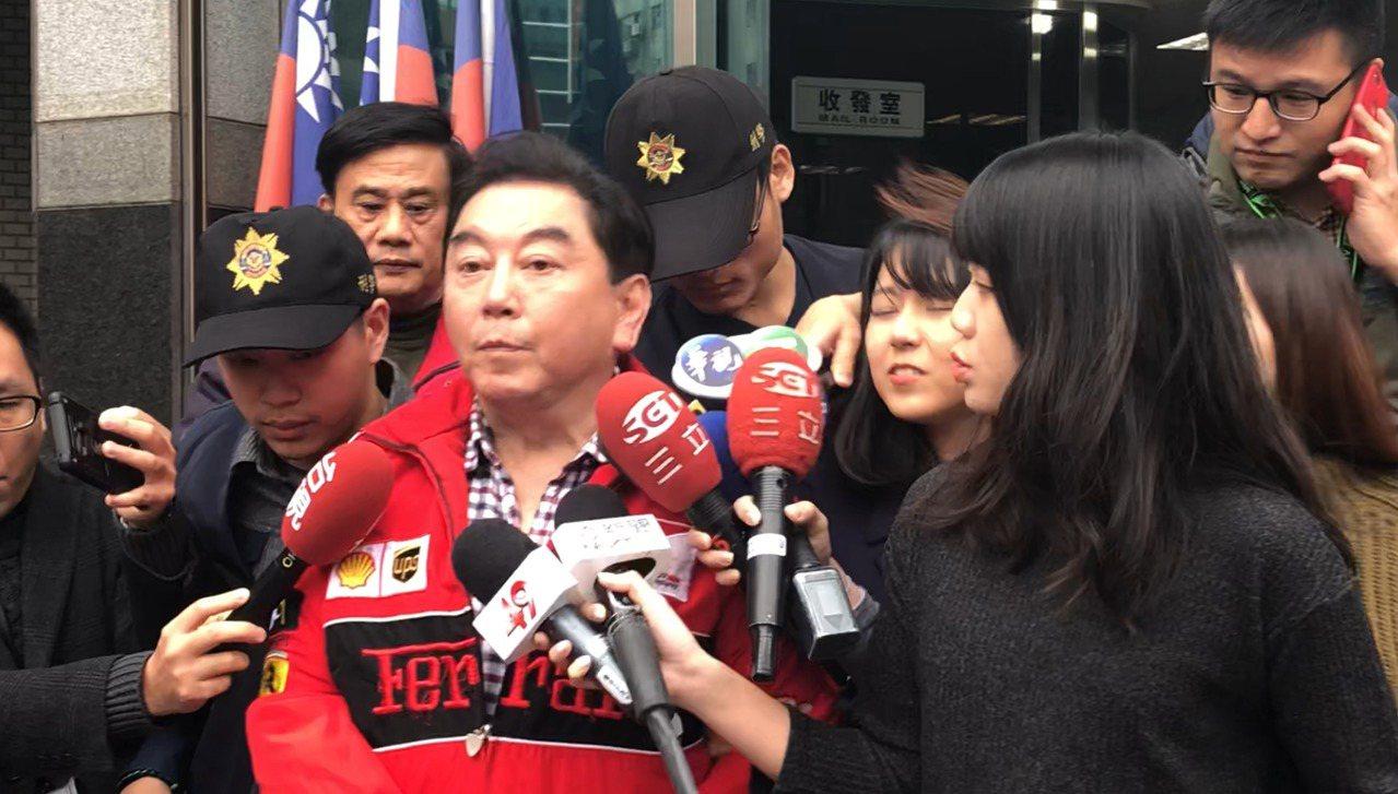 高國華酒駕被警方送辦。記者李承穎/攝影