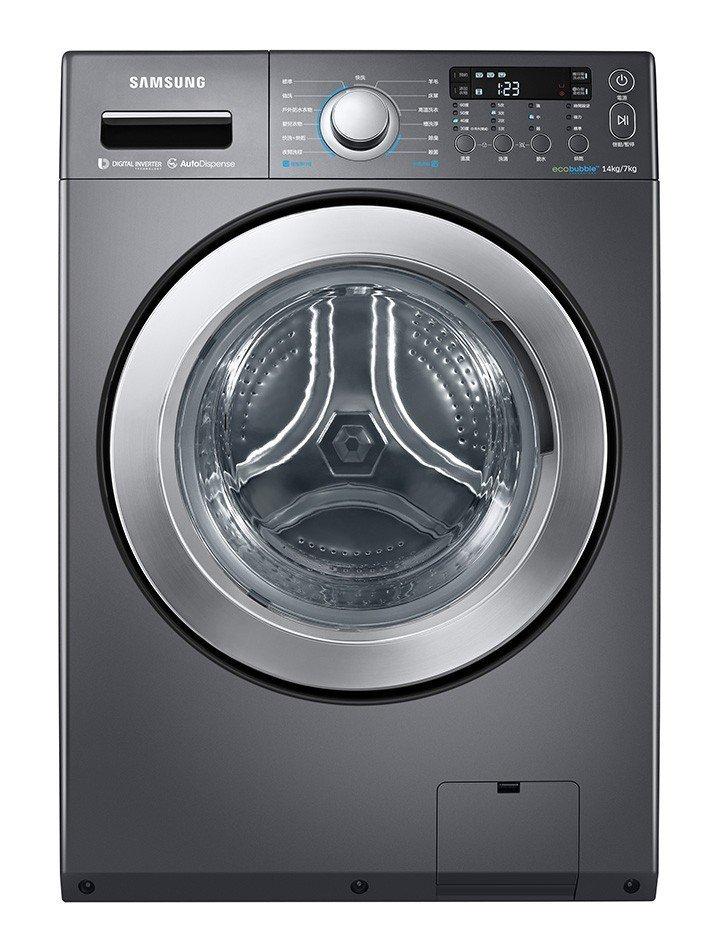 SAMSUNG 14KG洗脫烘滾筒洗衣機,市價40,900元、特價35,900元...