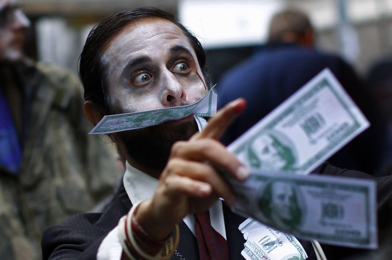 美國股市現在宛如進入「殭屍市場」。路透