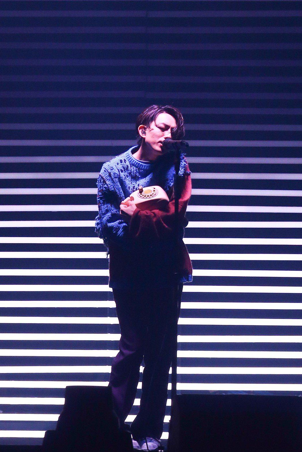 林宥嘉4度攻蛋,展開全新巡演「idol」。記者葉信菉/攝影