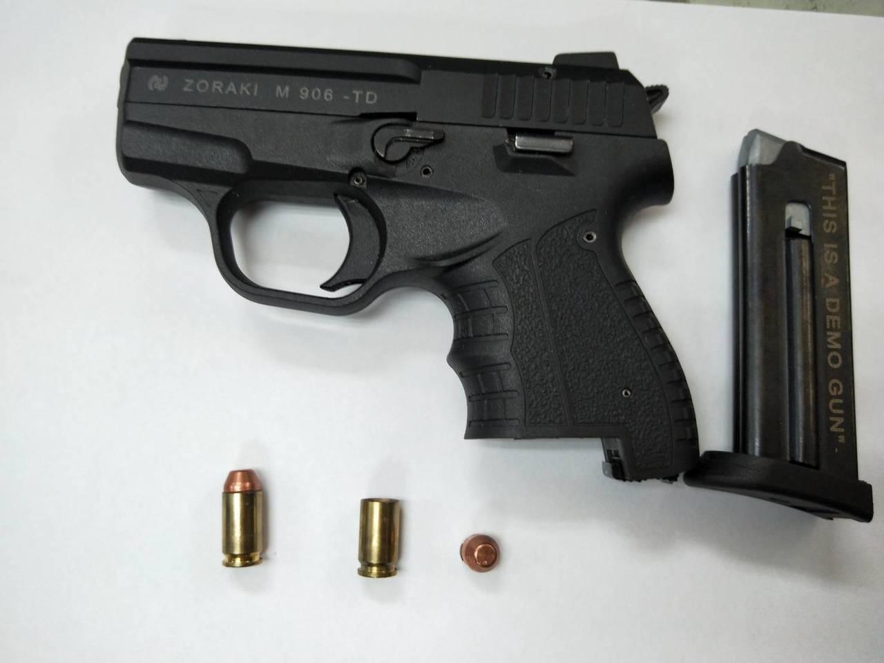 涉案的槍枝。記者劉星君/翻攝