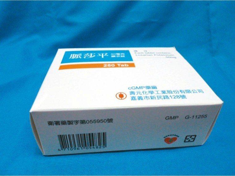 「脈莎平膜衣錠50毫克」使用的原料藥驗出含有致癌疑慮的「N-亞硝基二乙胺」(ND...