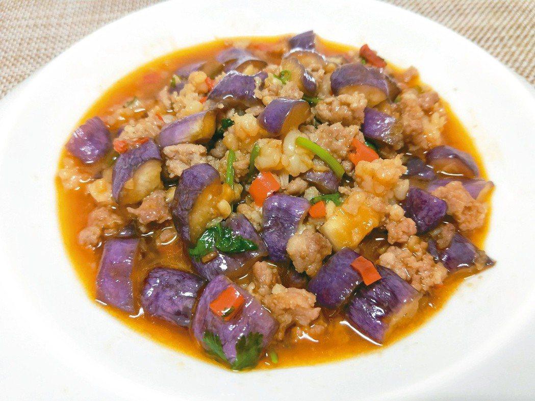 魚香茄子 陳芸英提供