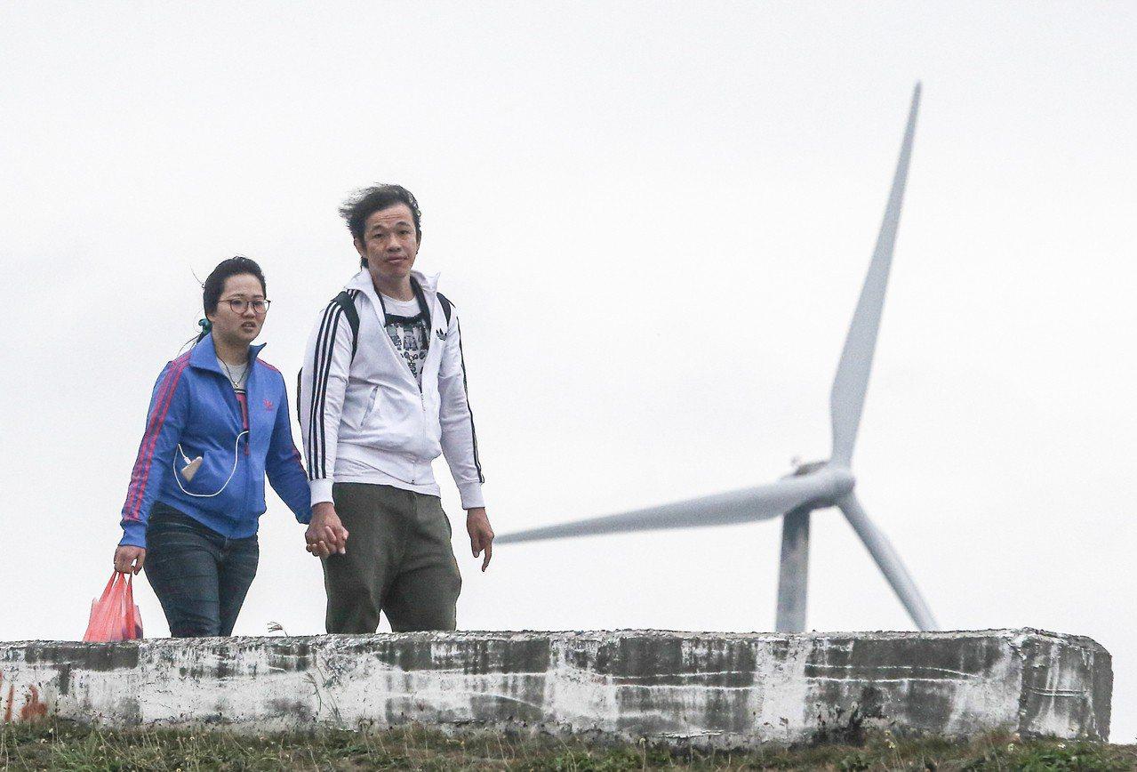 離岸風電開發商爭取今年5.8元較高躉購費率。 聯合報系資料照/記者黃仲裕攝影