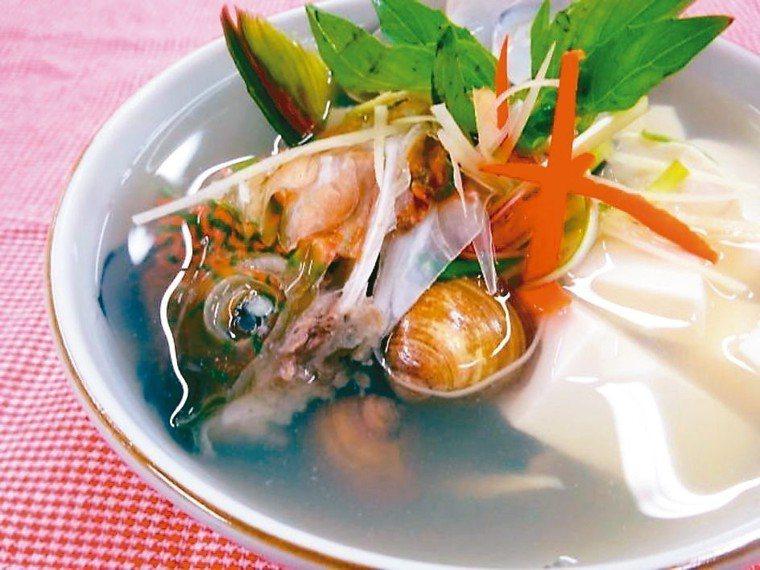 青衣蛤蜊湯 照片/周承俊提供