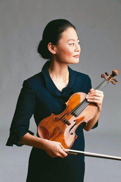 小提琴家宓多里。 圖/聯合數位文創提供