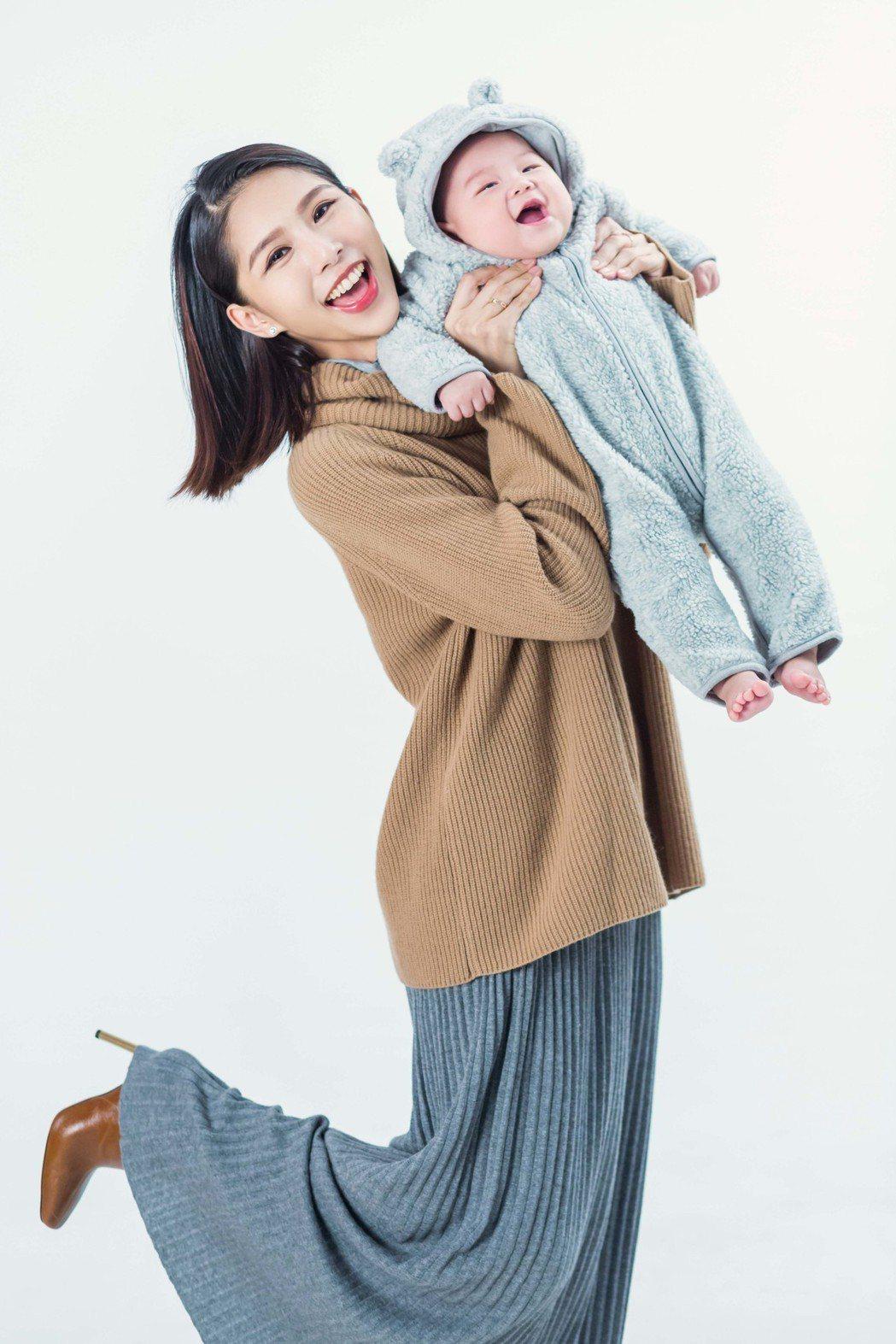 詹乃蓁認為媽媽的狀態好,就是孩子最好的身教。圖/媽媽寶寶雜誌提供