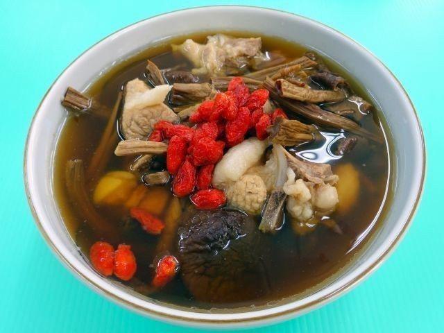 茶樹菇燉肉排。圖/周承俊提供