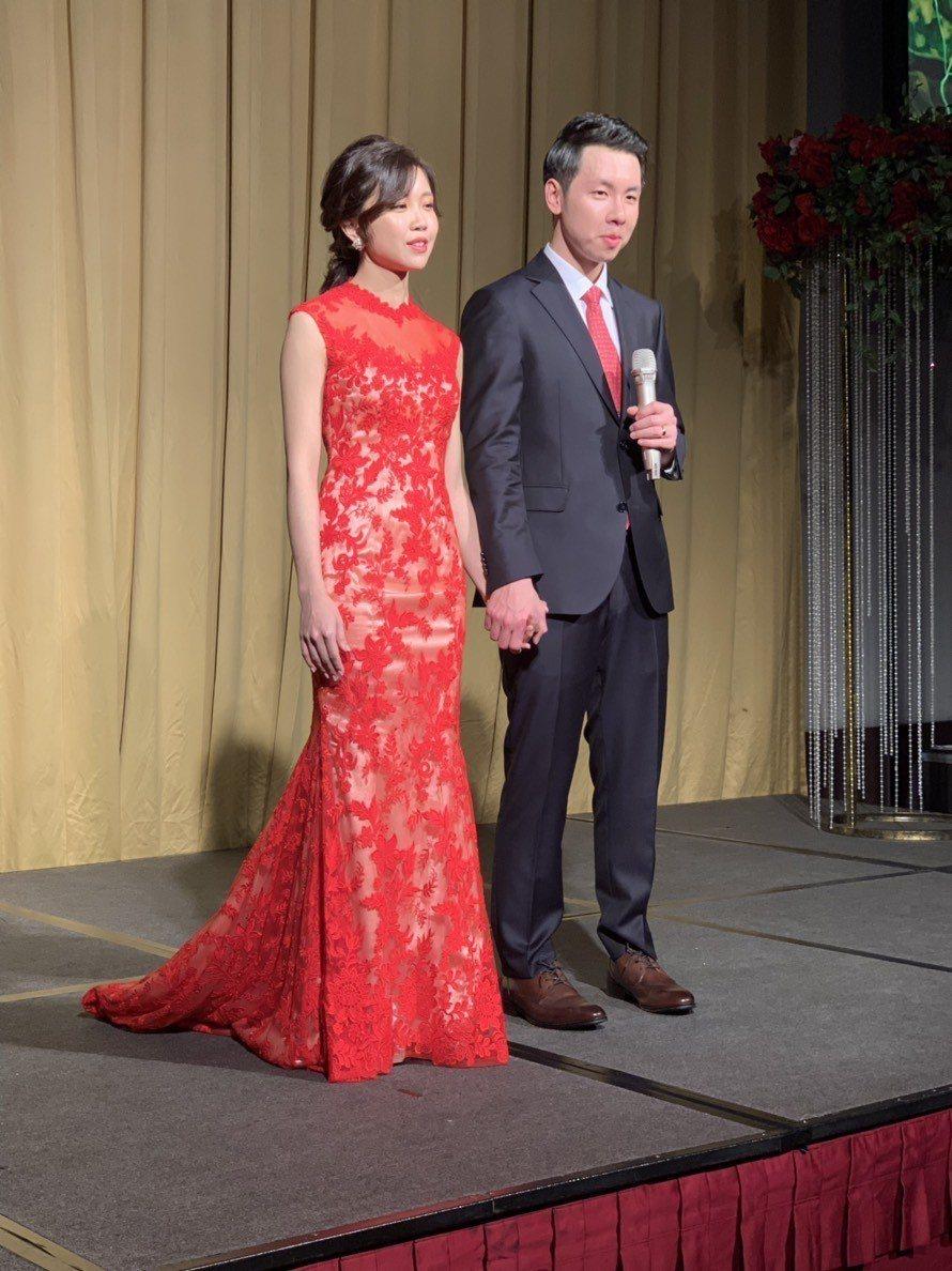 賴清德長子賴廷與今天娶妻。記者修瑞瑩/翻攝