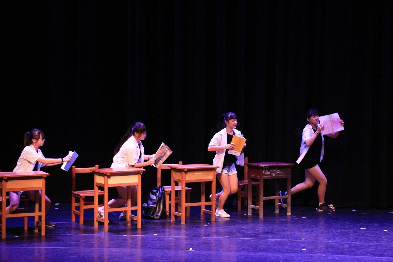 樹林高中「打開學校作業的旅程」獲最佳音樂劇獎。記者施鴻基/攝影