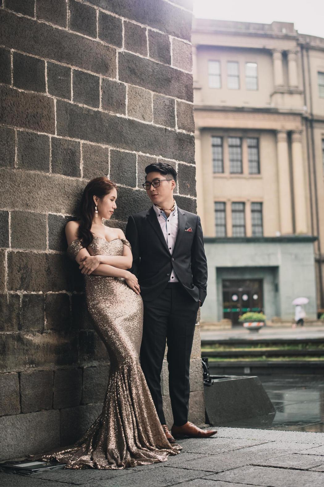余苑綺婚紗照曝光。圖/經紀人提供