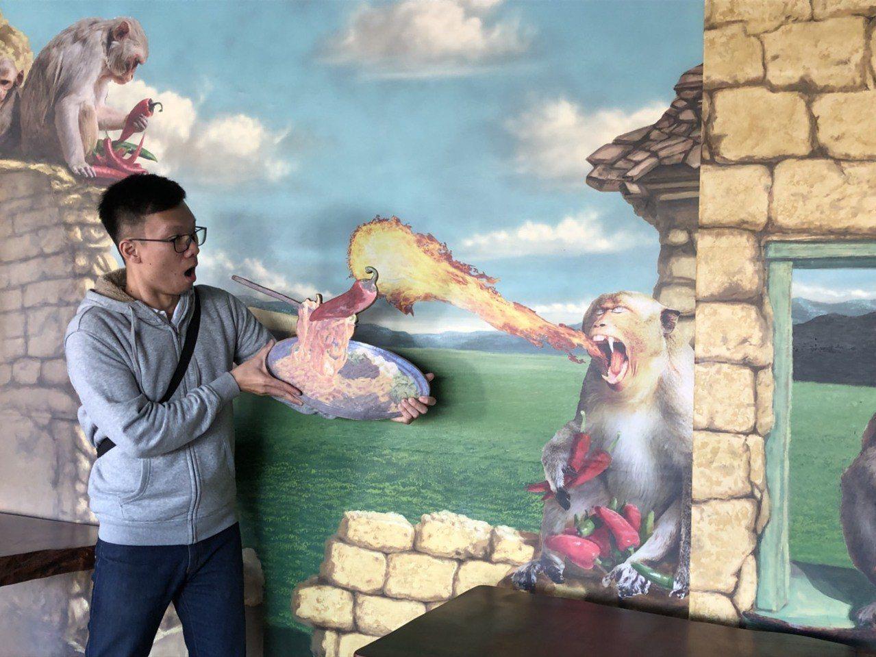 宜蘭縣「地王」將化身為羅東夜市的首家文創館,訴說羅東鎮有關猴子的歷史緣起,文創與...