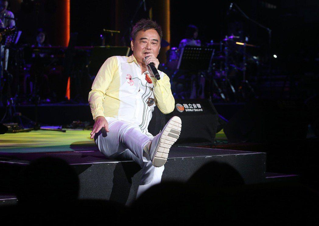 除了安排好的歌單,陳昇在演唱會向來是隨興發揮。記者余承翰/攝影