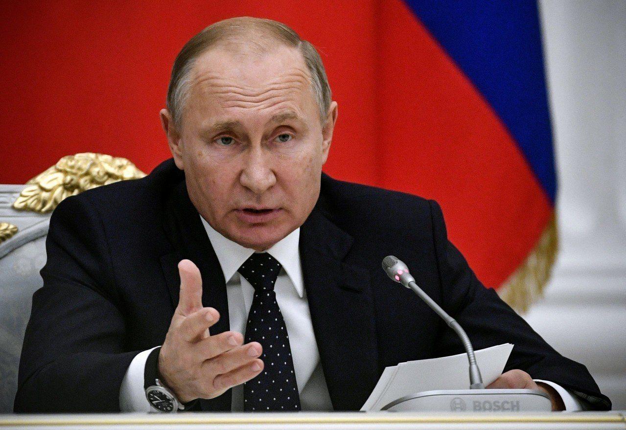 俄羅斯總統普亭。 (路透)