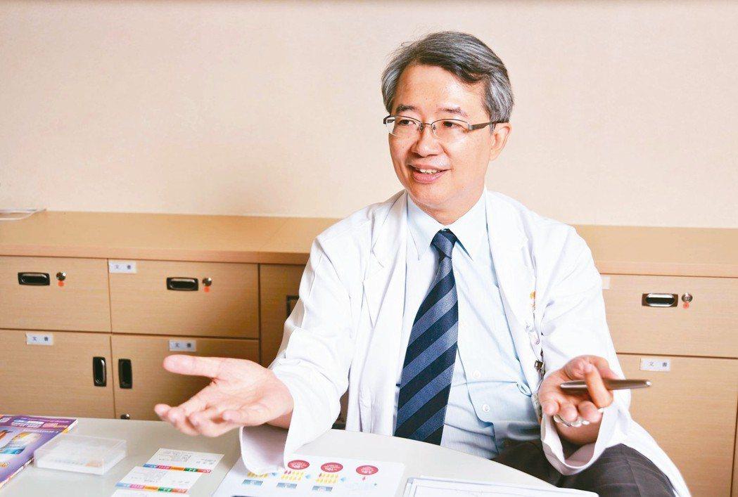 林口長庚醫院心臟內科系主任褚柏顯。 圖/褚柏顯提供