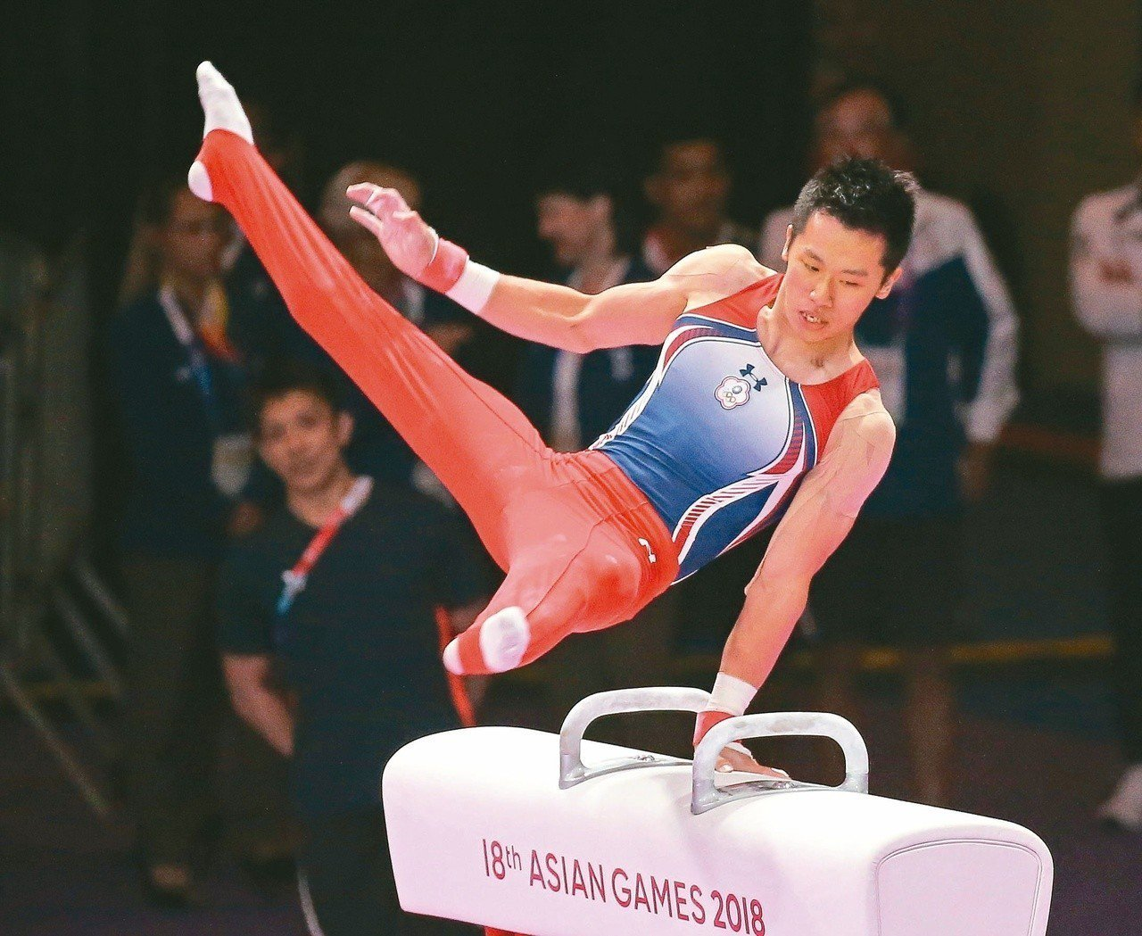 李智凱在體操鞍馬演出不斷精進,目標是東京奧運奪牌。圖/聯合報系資料照片