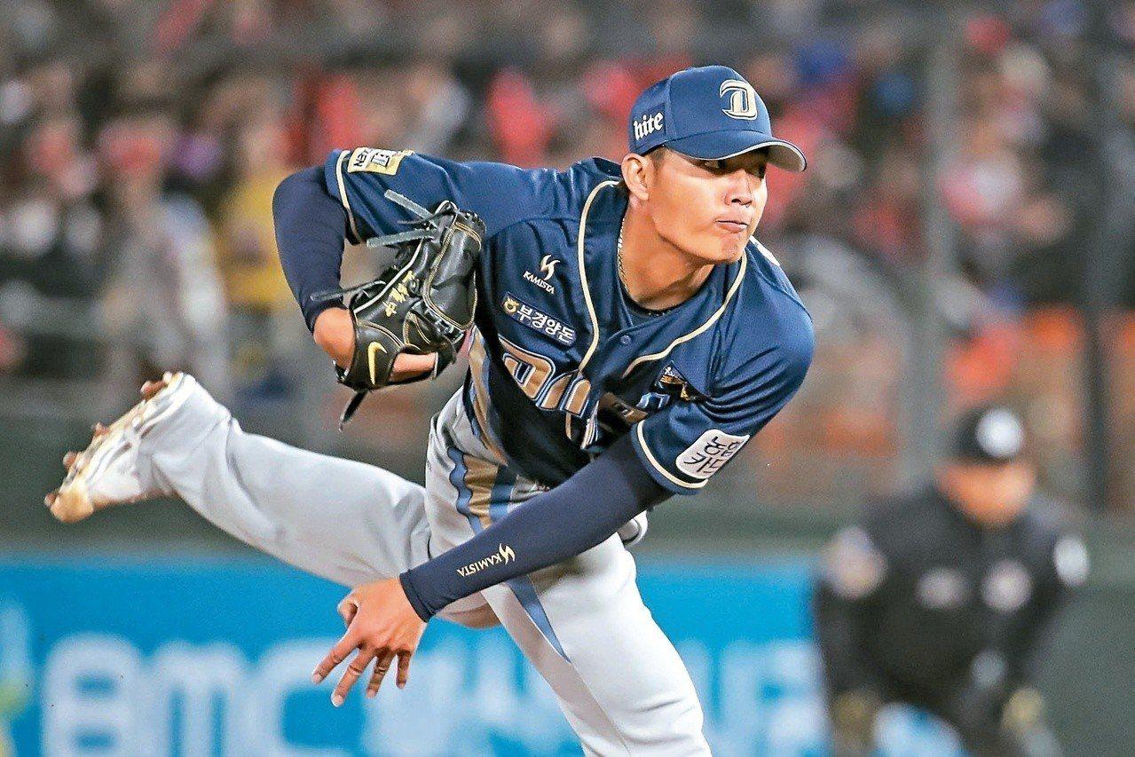 王維中本季轉戰韓職,但只待了一季。圖/博斯運動頻道提供