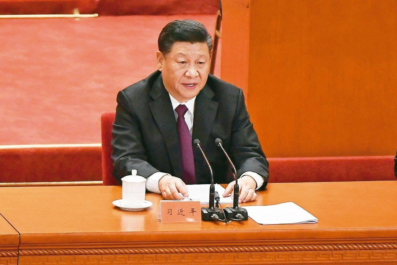 中國大陸領導人習近平。法新社