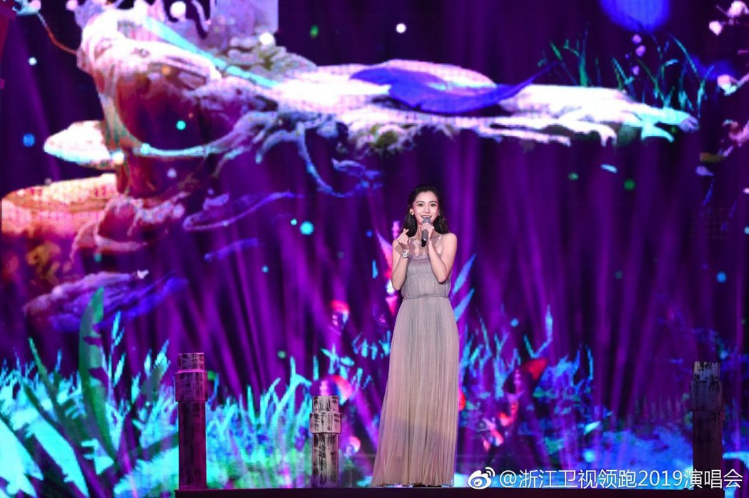 圖/擷自浙江衛視領跑2019演唱會微博
