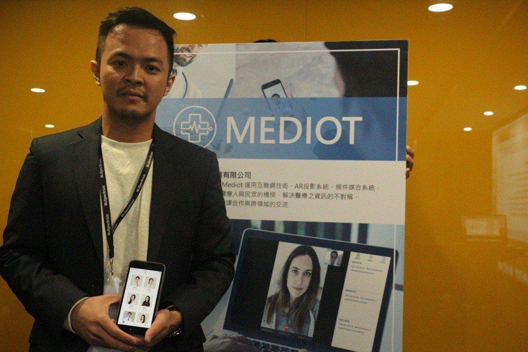 鳴醫(MEDIOT)創辦人謝懿以醫學工程背景投入遠距醫療。