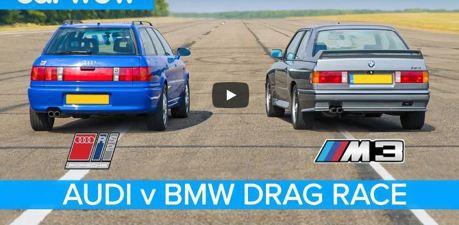 影/看膩新車了嗎?來看看BMW E30 M3 和Audi RS2兩台「老學校」車款對決吧!