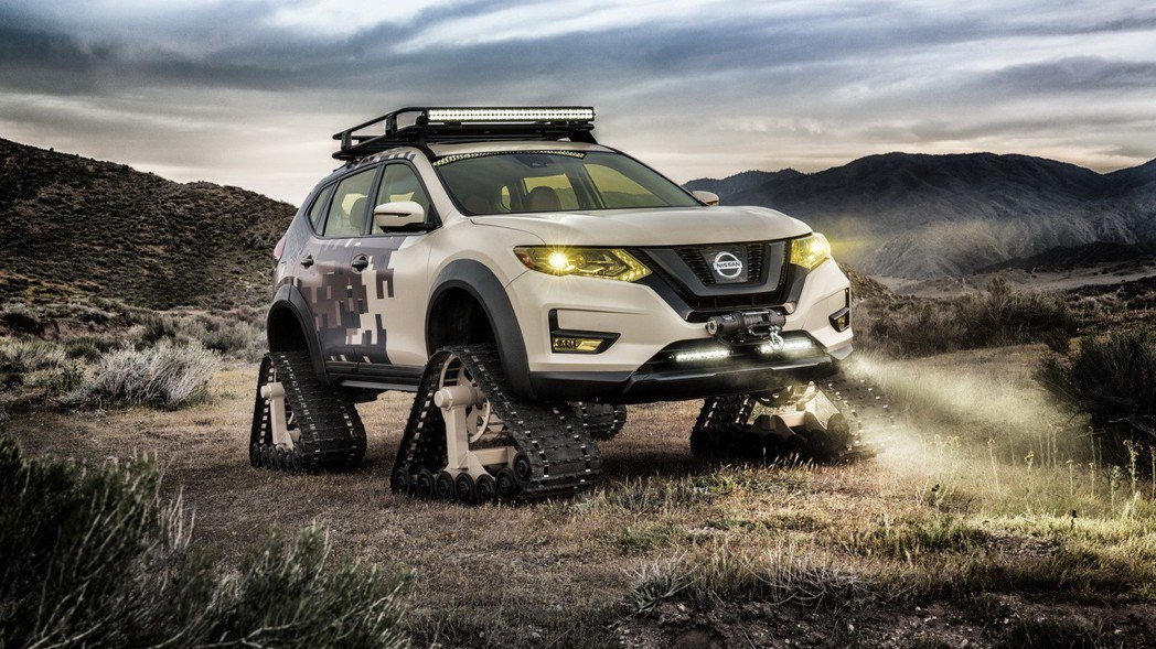Rogue Trail Warrior。 摘自Nissan