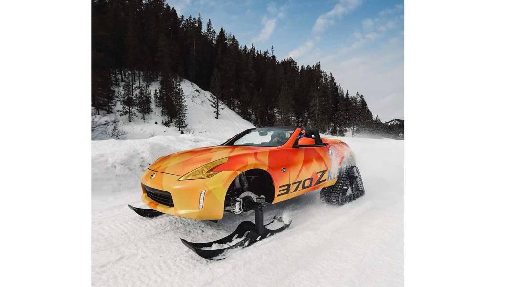 跑車雪地版本370Zki。 摘自Nissan