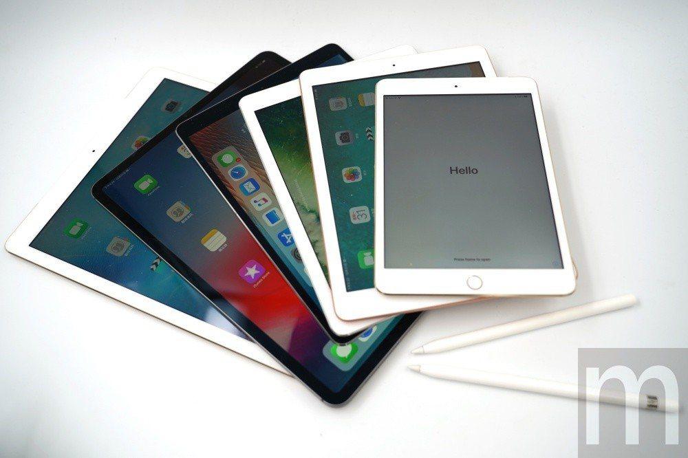 目前不同尺寸設計的iPad系列機種如何挑選?