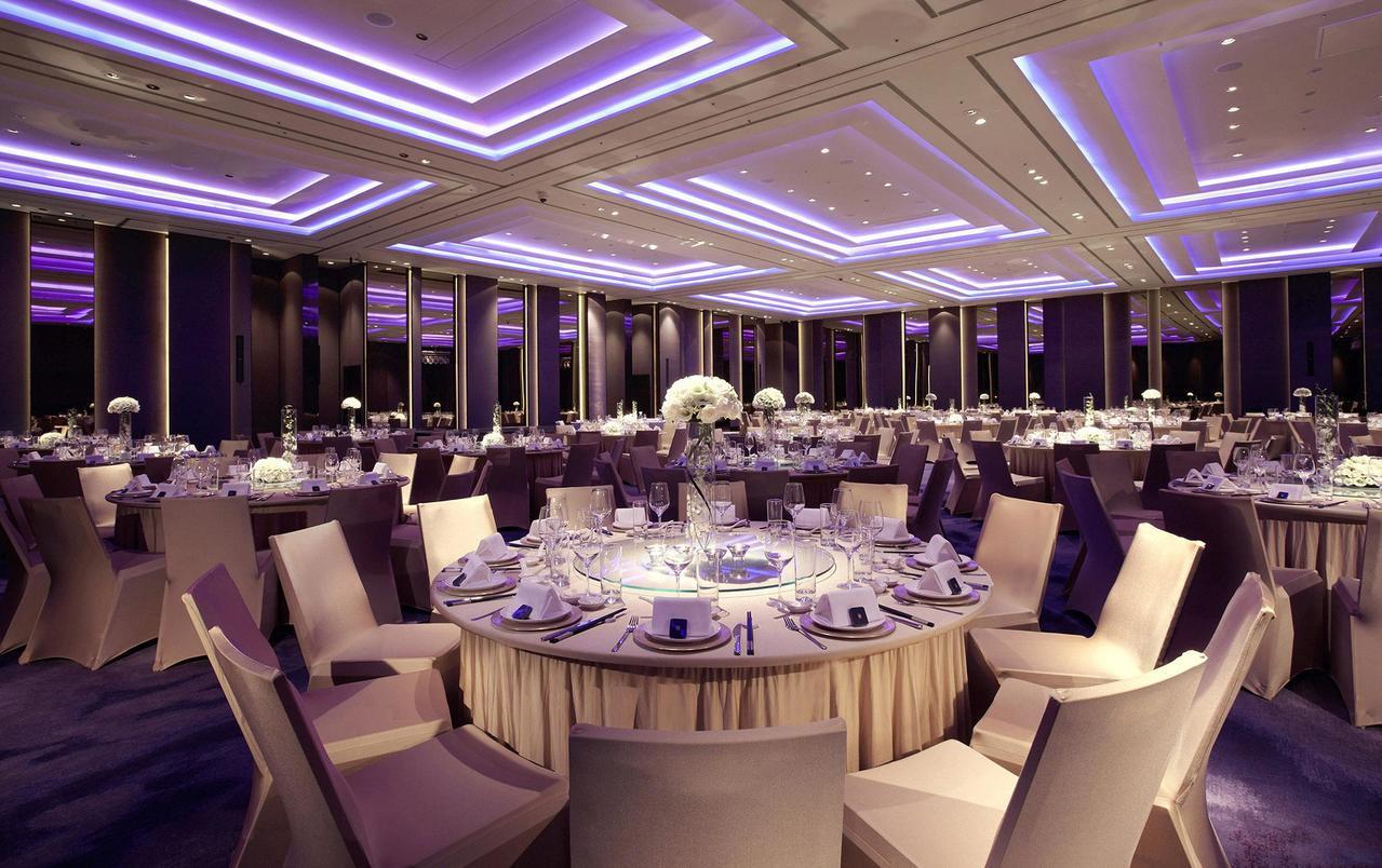 在五星飯店宴會廳圍爐氣氛佳。照片提供/寒舍艾麗酒店