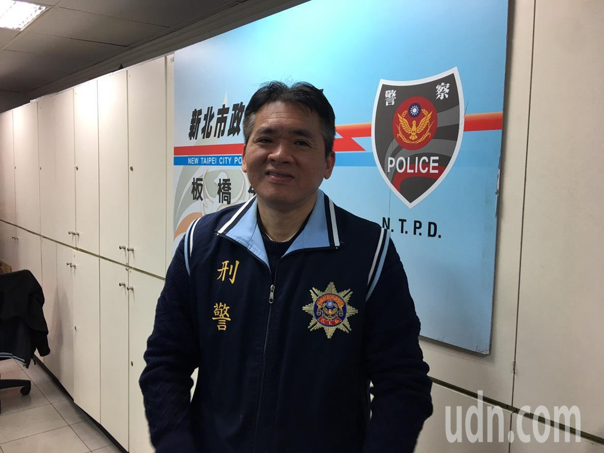 五年內二度逮到六福皇宮主廚游甯鈞的小隊長許降龍。記者袁志豪/翻攝