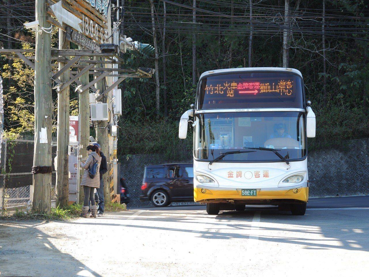 「獅山線」路線串聯竹北車站及高鐵新竹站,沿途行經各大知名景點。記者陳斯穎/攝影