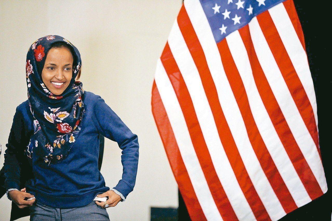 美國國會今年誕生史上第一位穆斯林女議員。路透