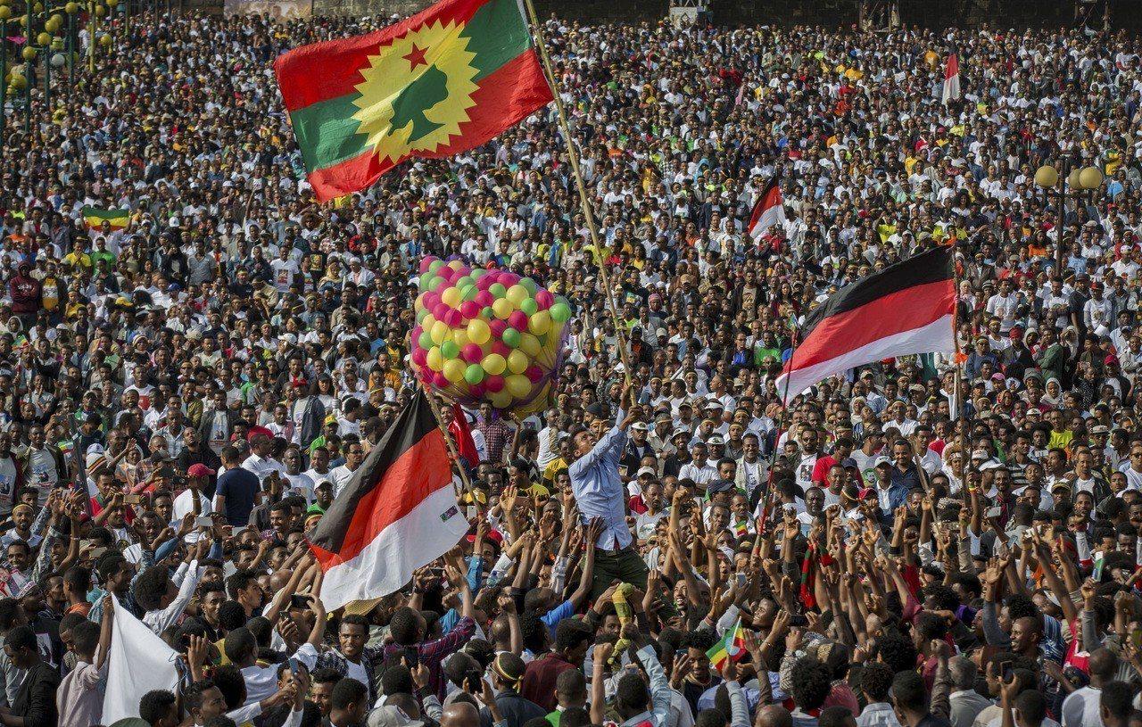 衣索比亞從獨裁走向民主。美聯社