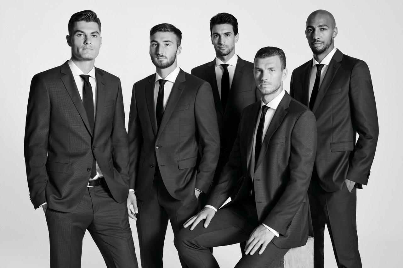羅馬體育俱樂部隊員,在這個賽季,會穿上BOSS的「Create Your Loo...