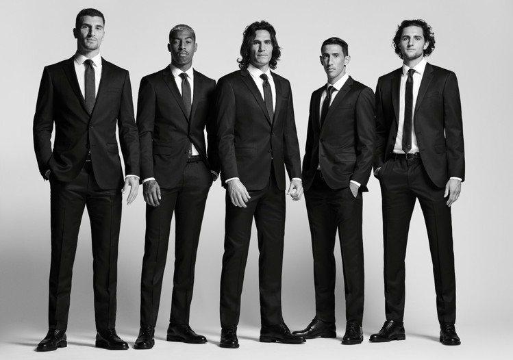 巴黎聖日耳曼足球俱樂部的球員,在這個賽季,會穿上BOSS的「Create You...