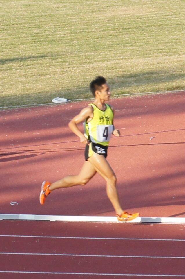 新竹在地跑者陶大瑜期待能穿梭在從小成長、求學的大街小巷中。圖/新竹市府提供