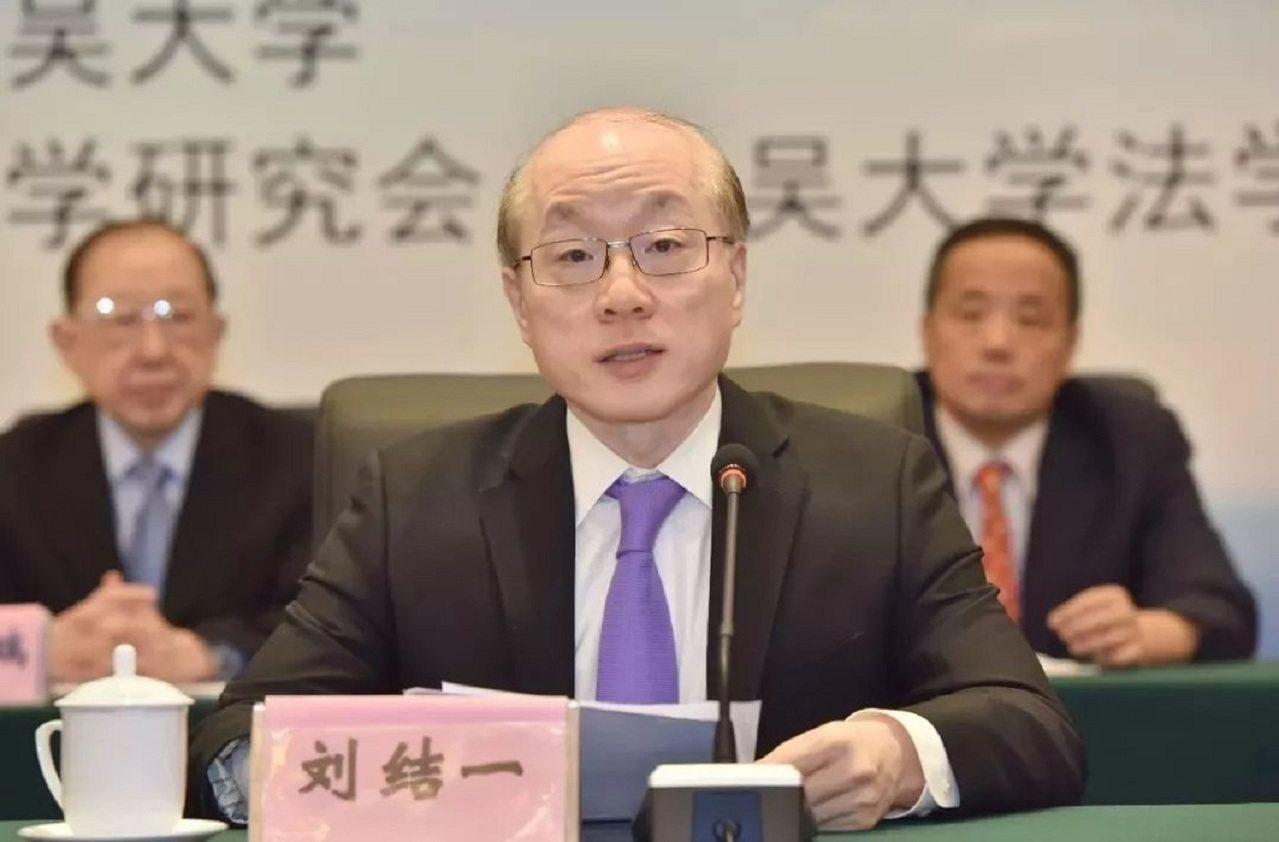 國台辦主任劉結一。法制日報
