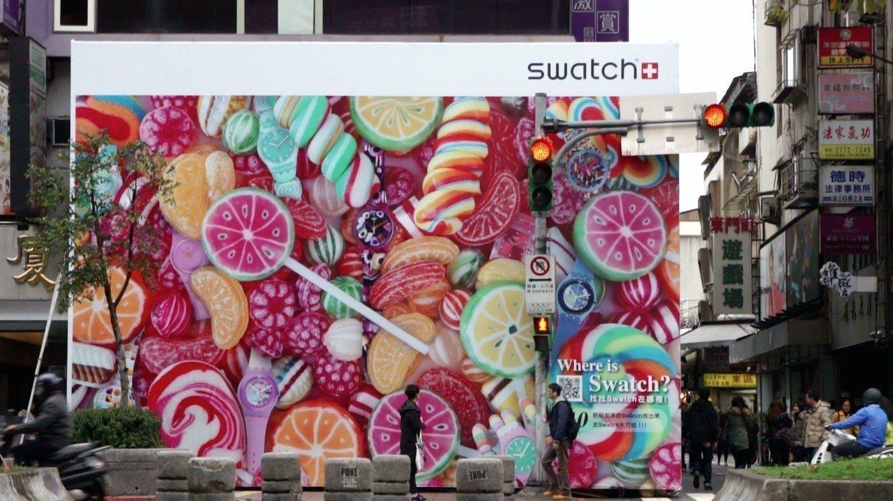 SWATCH在2014年擠走原本的速食業者,風光成立形象概念店,卻因為租金高昂而...