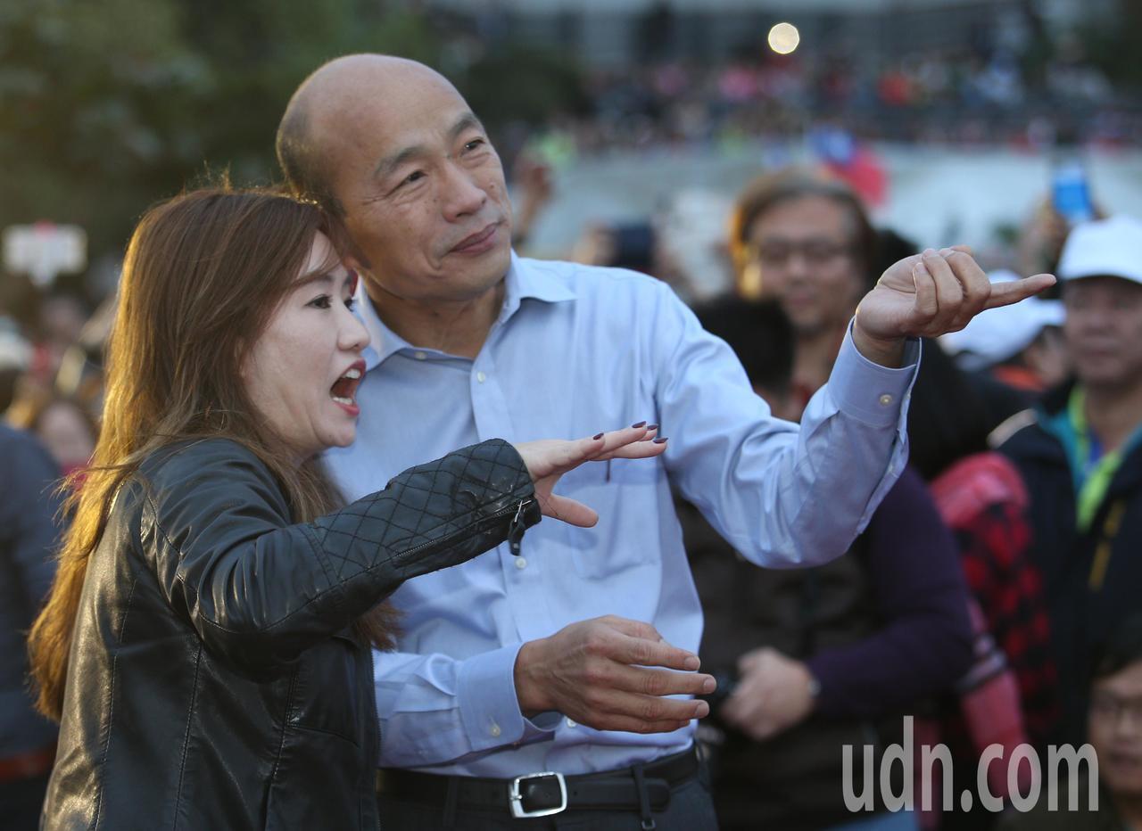 新任高雄市長韓國瑜。記者劉學聖/攝影